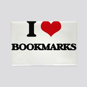 I Love Bookmarks Magnets