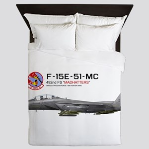 f15e_libya_merged Queen Duvet