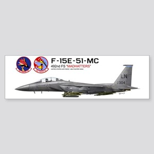 f15e_libya_merged Bumper Sticker