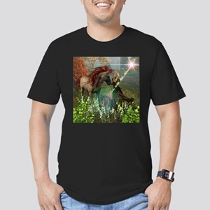 Beautiful elf with her horse T-Shirt