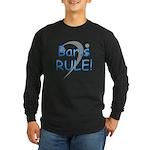 Baris RULE! Long Sleeve Dark T-Shirt