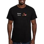 Donut Guru Men's Fitted T-Shirt (dark)
