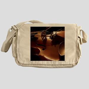 Beautiful Violin Messenger Bag
