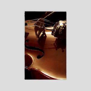 Beautiful Violin Area Rug