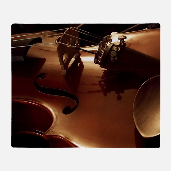 Beautiful Violin Throw Blanket