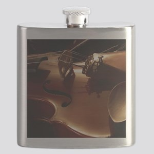 Beautiful Violin Flask