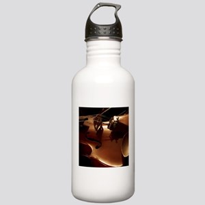 Beautiful Violin Water Bottle