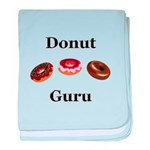 Donut Guru baby blanket