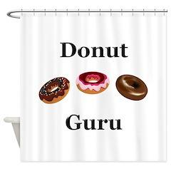 Donut Guru Shower Curtain