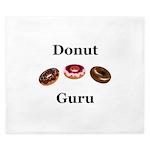 Donut Guru King Duvet