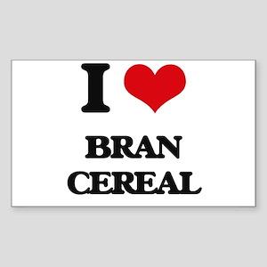 I Love Bran Cereal Sticker