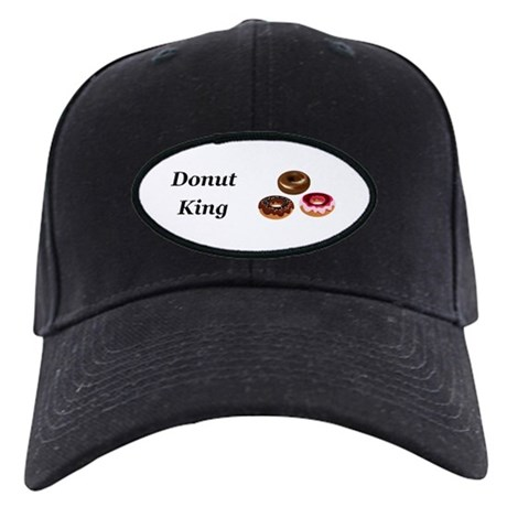 Donut King Baseball Hat by NiftyFolks 6c64d5e5ff66