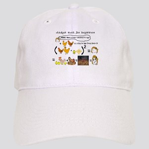 Chicken Math Baseball Cap