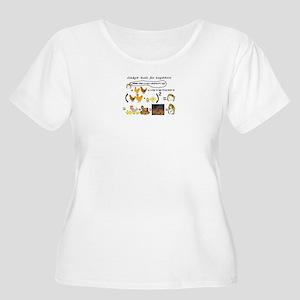Chicken Math Plus Size T-Shirt