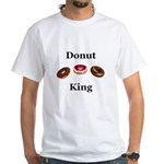 Donut King White T-Shirt