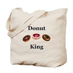 Donut King Tote Bag