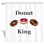 Donut King Shower Curtain