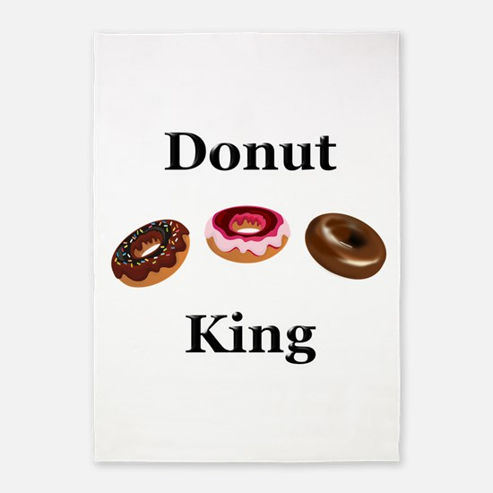 Donut King 5'x7'Area Rug