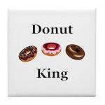Donut King Tile Coaster
