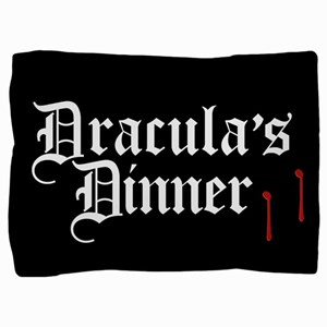 draculas-dinner_13-5sq Pillow Sham