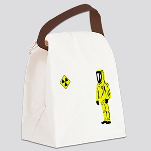 radiation Canvas Lunch Bag