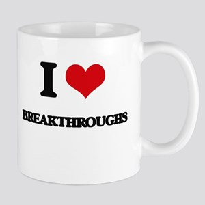 I Love Breakthroughs Mugs