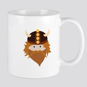 Viking Head Mugs