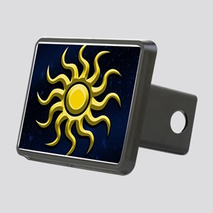 Sun In The Starry Sky Hitch Cover