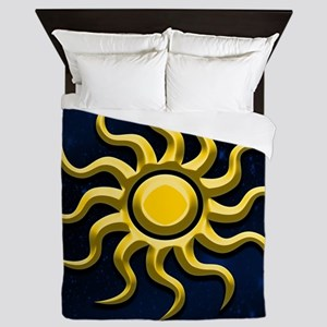 Sun In The Starry Sky Queen Duvet