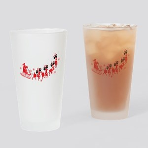 Reindeer Games Small Drinking Glass