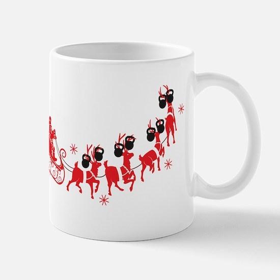 Reindeer Games Small Mugs