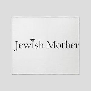 3-jewishmother Throw Blanket