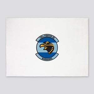 195_warhawks_fighter 5'x7'Area Rug