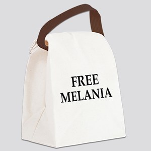 Free Melania Canvas Lunch Bag