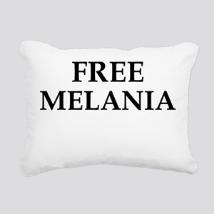 Free Melania Rectangular Canvas Pillow