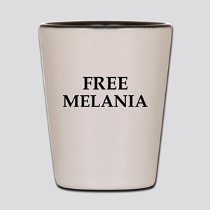 Free Melania Shot Glass