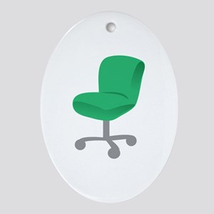 Office Chair Ornament (Oval)