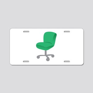 Office Chair Aluminum License Plate
