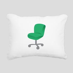 Office Chair Rectangular Canvas Pillow