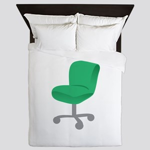 Office Chair Queen Duvet