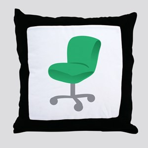 Office Chair Throw Pillow