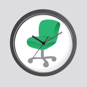 Office Chair Wall Clock