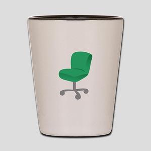 Office Chair Shot Glass