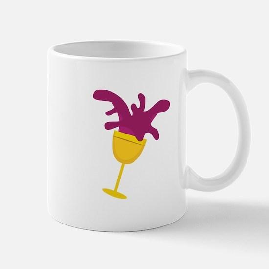 Spilled Wine Mugs