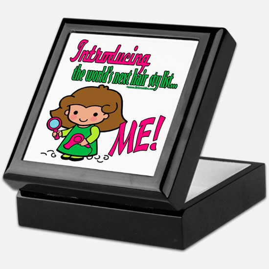 Future Hair Stylists Keepsake Box