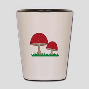 Gnome Mushroom Shot Glass