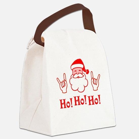 Cornu Claus Canvas Lunch Bag