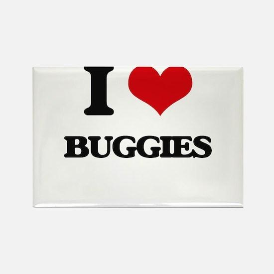 I Love Buggies Magnets
