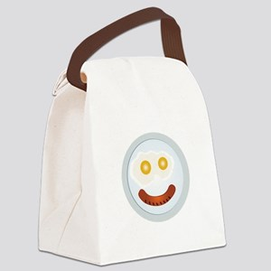 Sausage Face Canvas Lunch Bag