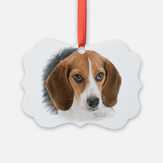 Beagle Close Up Ornament